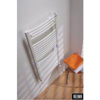 600/1200 HVID OVAL Håndklæderadiator